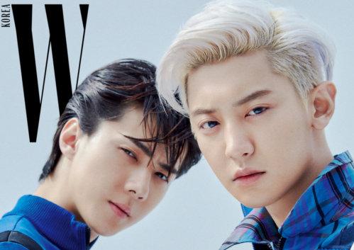 Sehun dan Chanyeol EXO