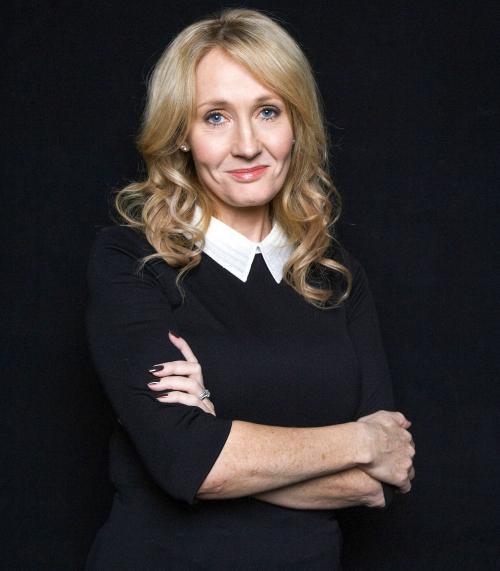 JK Rowling. (Foto: TIME)
