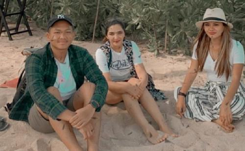 Azriel, Aurel Hermansyah dan Ashanty