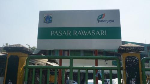 Pasar Rawasari. (Foto : Okezone.com/Fahreza Rizky)