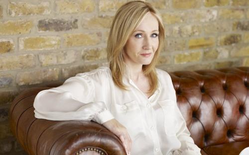 JK Rowling. (Foto: SpeakEasy Magazine)