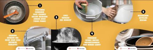 Cara Bersihkan Rice Cooker