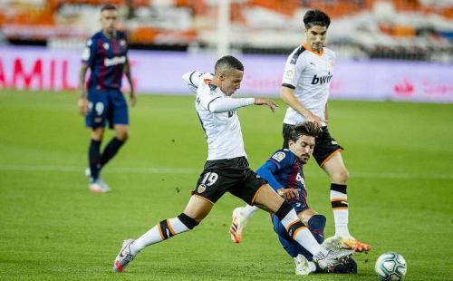 Valencia diimbangi tamunya Levante (Foto: Valencia CF)