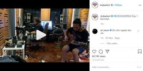 Dul Jaelani. (Foto: Instagram/@duljaelani)