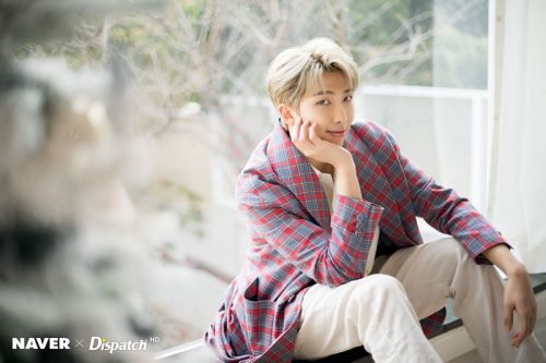 RM BTS. (Foto: Dispatch)