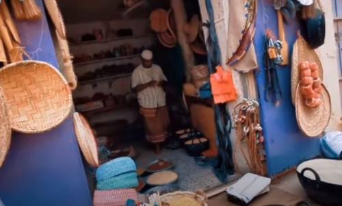 Pasar di Kota Tarim