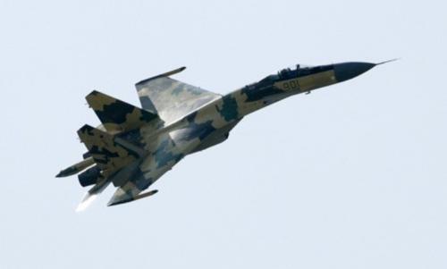 Jet tempur Sukhoi SU-35 (Reuters)