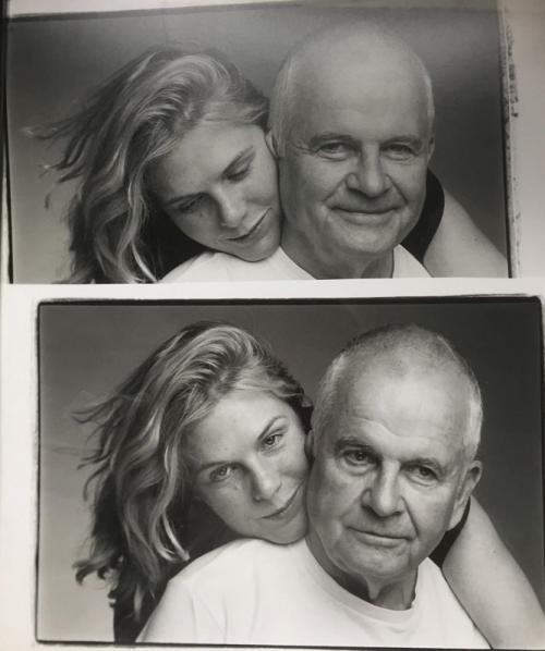 Ian Holm dan istri. (Foto: Instagram/@sophiedestempel)