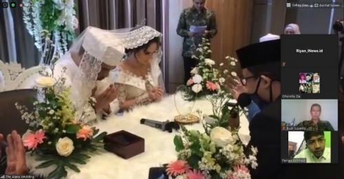 Pernikahan Angelica Simperler