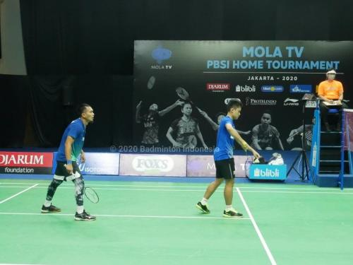 Ahsan/Leo di Home Tournament