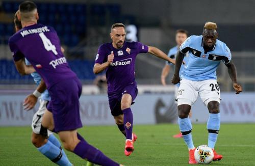 Lazio tekuk Fiorentina 2-1 akhir pekan lalu (Foto: Twitter/@OfficialSSLazio)