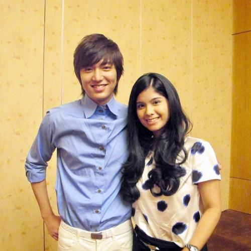 Annisa Pohan dan Lee Min Ho. (Foto: Instagram/@annisayudhoyono)