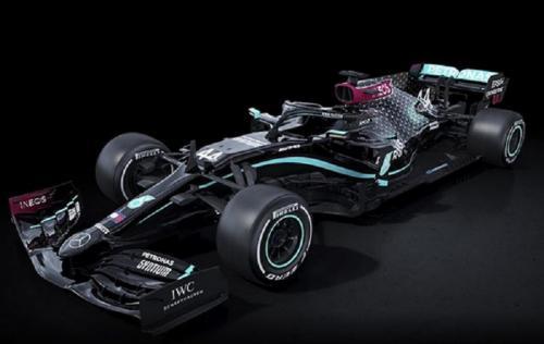 Livery mobil Mercedes untuk F1 2020