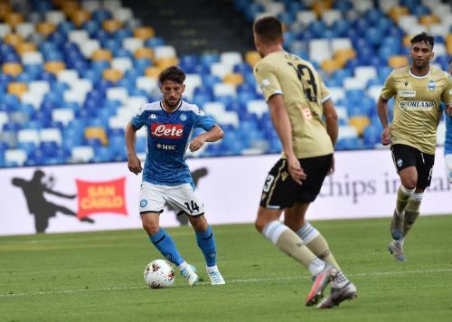 Napoli taklukkan SPAL 3-1 (Foto: Twitter/@sscnapoli)