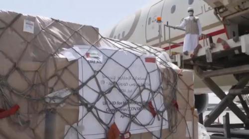 UEA salurkan bantuan alat pelindung diri ke tenaga medis dunia (Foto : Istimewa)