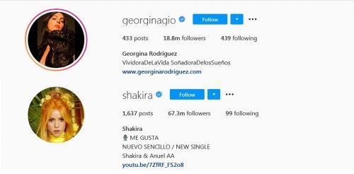Shakira vs Georgina