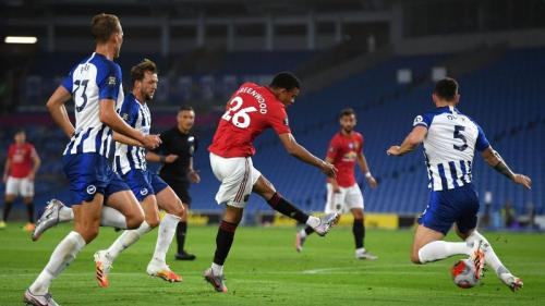 Mason Greenwood vs Brighton (Foto: Premier League)