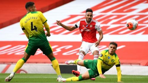 Laga Arsenal vs Norwich City