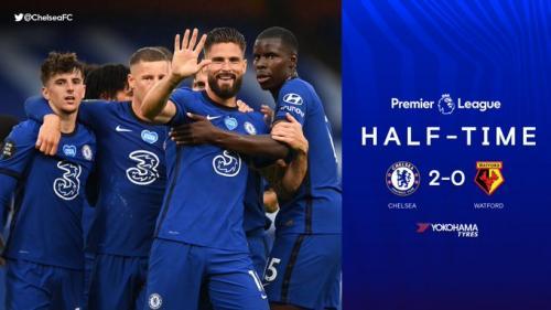 Chelsea berhasil menaklukkan Watford