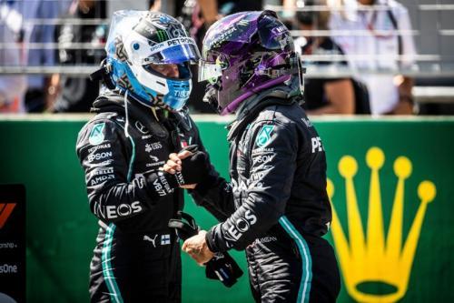 Hamilton dan Bottas