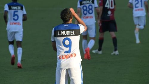 Luis Muriel sangat tajam (Foto: Twitter/@Atalanta_BC)