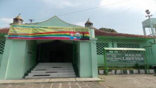 Masjid Laweyan di Kota Solo. (Foto: Bramantyo/Okezone)