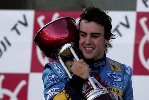 Fernando Alonso dua kali juara dunia F1