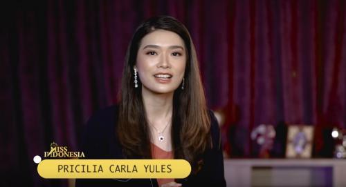 Miss Indonesia 2020 Carla Yules