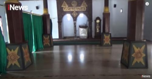 Masjid Pakuncen Nganjuk. (Foto: Youtube Official iNews)