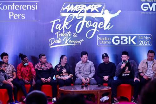 Jumpa pers konser Ambyar Tak Jogeti. (Foto: Okezone)