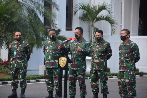 KSAD Jenderal Andika Perkasa. (Foto : Okezone)