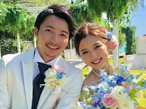 Gaku Shibasaki menikahi Erina Mano pada 2018 (Foto: Instagram/@erinamano_official)