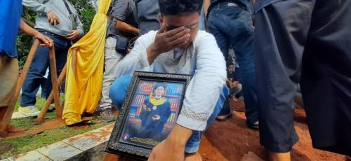 Pemakaman Yodi Prabowo