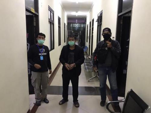 Satgas TPPO Bareskrim Polri menangkap mandor kapal ikan China, Song Chuanyun, atas kasus penganiayaan yang menyebabkan ABK WNI di kapal itu meninggal. (Foto: Bareskrim Polri).