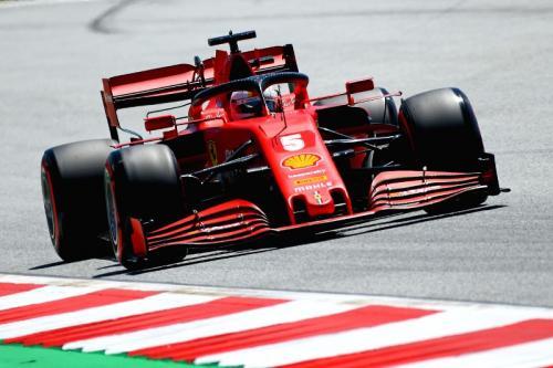 Sebastian Vettel belum mendapatkan hasil terbaik pada F1 2020 (Foto: Scuderia Ferrari)