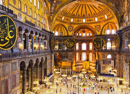 Hagia Sophia. (Foto: Istimewa)