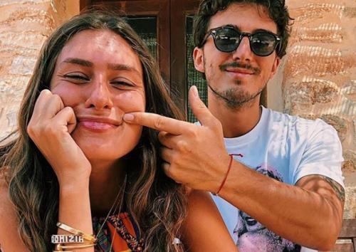 Francesco Bagnaia menjalin hubungan dengan Domizia Castagnini