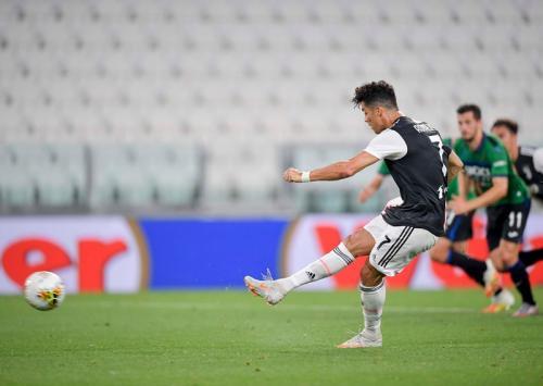 Penalti Cristiano Ronaldo gagalkan kemenangan Atalanta (Foto: Juventus)