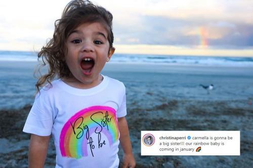 Christina Perri umumkan kehamilan kedua. (Foto: Instagram/@christinaperri)
