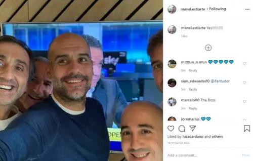 Reaksi Pep Guardiola