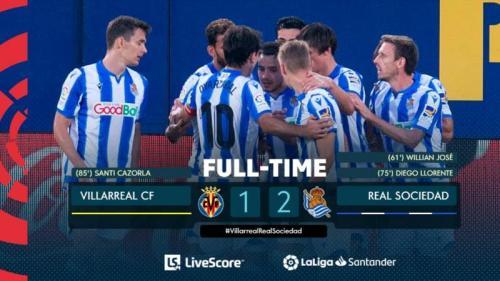 Hasil Villarreal vs Real Sociedad