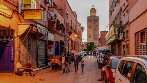 Masjid Koutobia di Kota Marrakesh, Maroko. (Foto: Unsplash)