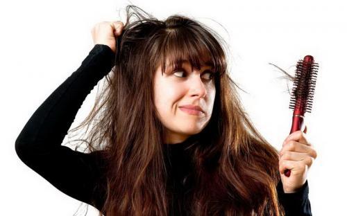 rambut kusut