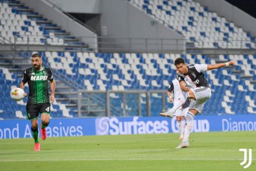 Gaya main Cristiano Ronaldo berubah, tetapi kemampuannya tetap mumpuni (Foto: Juventus)