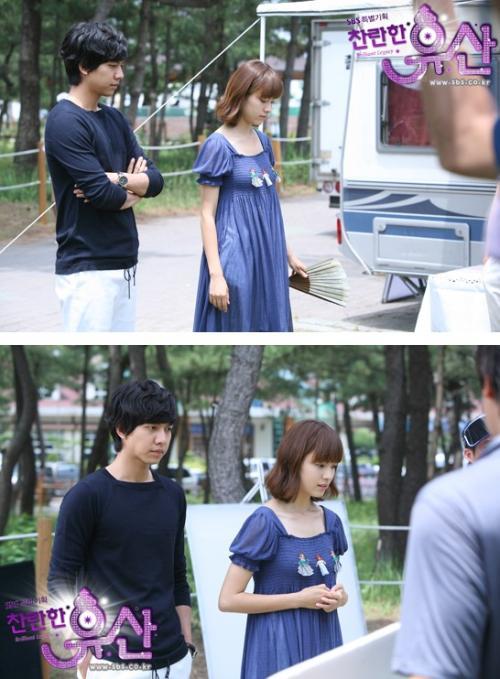 Lee Seung Gi dan Han Hyo Joo.