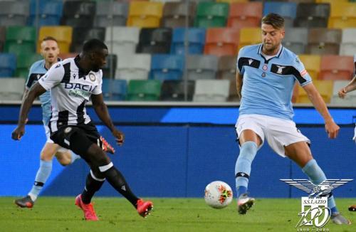 Udinese vs Lazio (Foto: Twitter/@OffcialSSLazio)