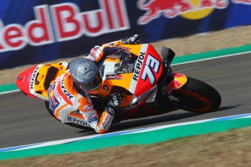 Alex Marquez sulit taklukkan motor RC213V (Foto: HRC)