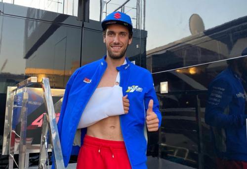 Alex Rins cedera