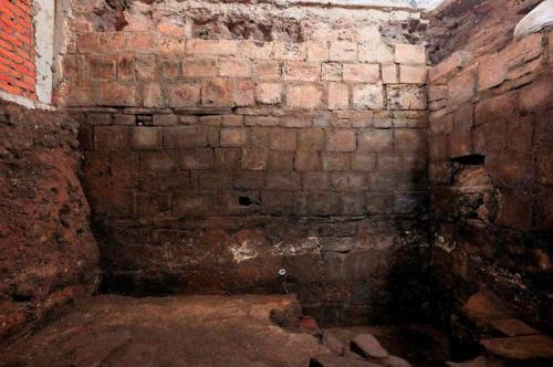 Reruntuhan Istana Bangsa Aztec (Foto : Reuters)