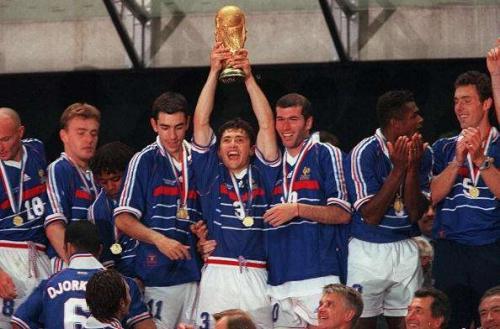 Timnas Prancis 1998